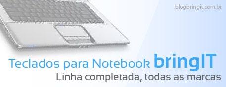 Como identificar e consertar/resolver problemas comuns em teclados de notebook.