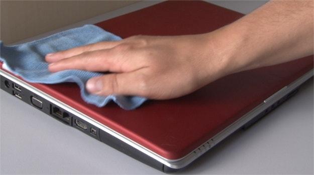 Limpeza do Notebook