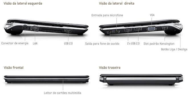 Netbook Samsung solar